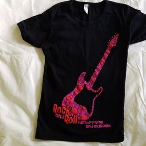 Rock and Roll Hall of Fame Black ladies Tshirt